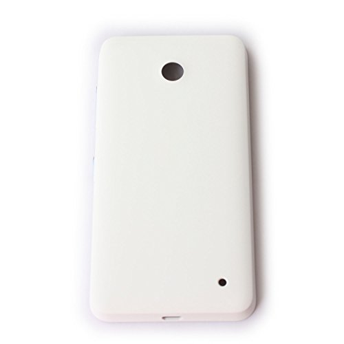 New Housing Back Battery Cover Door With button For Nokia Lumia 635 630 N630 N635 USA Cell Phones Parts (White)