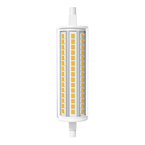 AGOTD R7s LED Lampe 118mm 12W J118 3000K Warmweiß Licht, Ersetzt 125 Watt Halogenlampe, Nicht dimmbar, 1er Pack
