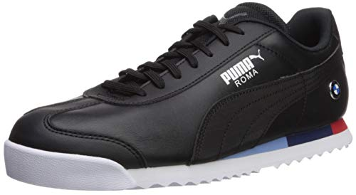 Price comparison product image PUMA Men's BMW MMS Roma Sneaker,  Black / Black,  10 M US