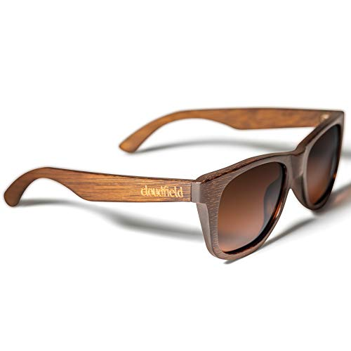 Wood Sunglasses Polarized for Men and Women - Bamboo Wooden Sunglasses Sunnies - Fishing Driving Golf woodies westwood treehut texas paul frank kreed pirana hawkers blenders sunski aunglasses trendy