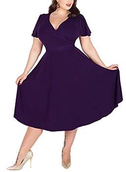 Best plus size retro dresses Reviews