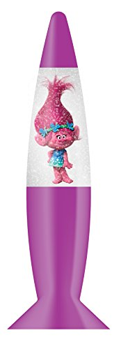 Joy Toy 67681 Lámpara LED de Trolls con Purpurina en Blister