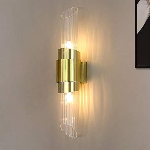Lámpara industrial, Lámpara de pared, lámpara individual dormitorio creativa de cabecera superior e inferior de la fuente de luz, balcón pasillo que viven lámpara de pared LED de estar, dormitorio lám