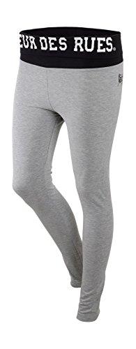 BOXEUR DES RUES Fight Activewear, Leggings con Logo Stampato sul...