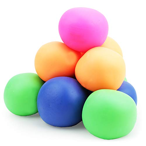 Boley 12 Pack Stress Relief Toys - Latex-Free Assorted Squishy Stress Ball Set - Stress Relief Senso - http://coolthings.us
