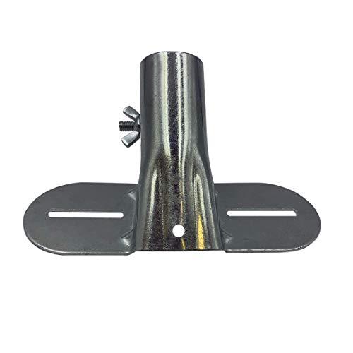 Strapazierfähige Metall-Besenstielhalterung mit verstellbarem Durchmesser zur Unterstützung fester Besenstiele