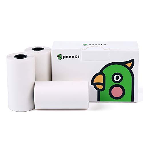 Rouleau thermique de papier de réception-3 rouleau blanc de papier d'impression