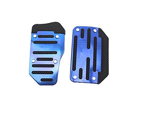 Pedal de Freno Pedal de Caja de Cambios de Coche Auto Antideslizante Acelerador Accesorios de Freno para Fiat Punto Palio Uno Idea Bravo Sedici Grande Cubierta de Pedal (Nombre del Color: Azul) útil
