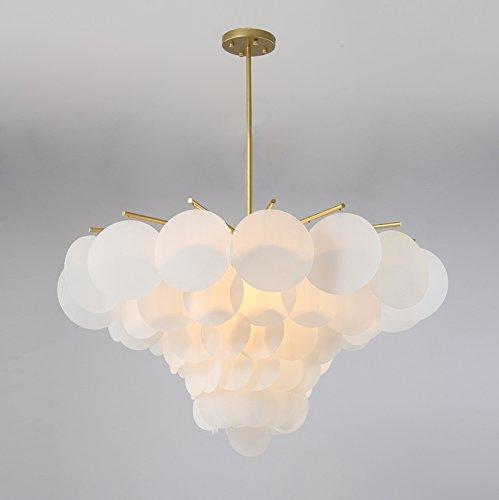 LightInTheBox Artistic Moderne Kronleuchter Umgebungslicht Anhänger Light Wohnzimmer Deckenleuchte Beleuchtung Bestandteil Malerei Finish