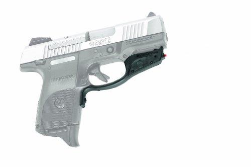 Crimson Trace LG-449 Laserguard Red Laser Sight with Instinctive Activation for Ruger SR9c Pistols, Defensive Shooting and Competition