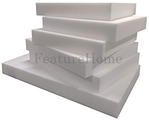 Espuma de repuesto para cojín de sofá, espuma de tapicería firme (5 cm) de grosor, 48' x 36')