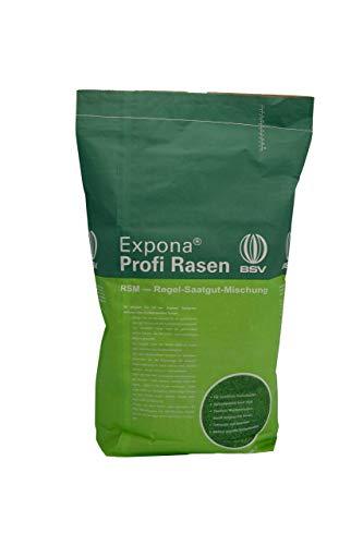Regenerations-Rasen von EXPONA Profi Rasen für - Rasensaat zur Auffrischung zur Einsaat und Nachsaat - RSM 3.2 - schnelle Keimung - dichter und saftiger Rasen I 10kg für 400m²