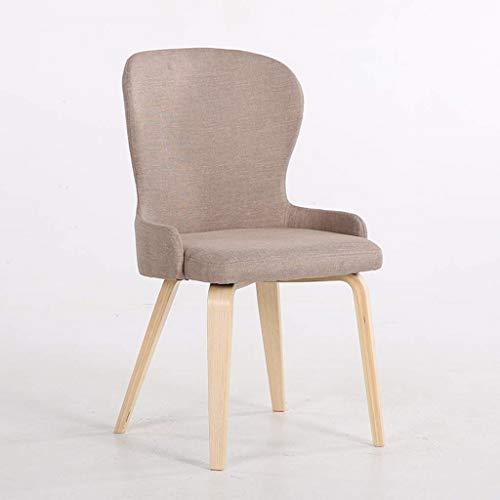 Kruk stoel massief houten doek make-uptafel Nordic slaapkamer rugleuning make-up stoel multifunctionele milieuvriendelijke eetkamerstoel moderne eenvoudige stoel huishoudkruk