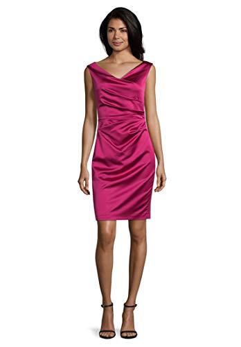 Vera Mont Damen 0058/4822 Kleid, Rosa (Berry Pink 4221), (Herstellergröße: 46)