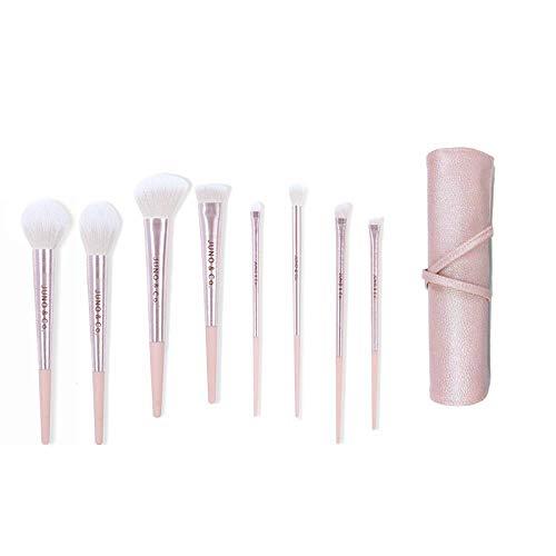 Ensemble De Pinceaux De Maquillage Fard À Paupières Poudre Foundation Brush Professional Animal Soft Brush, 8 Piece Set