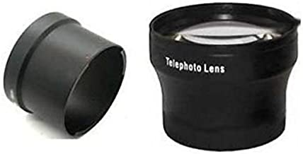 Tele Lens +Tube Adapter Bundle for Panasonic DMC-FZ18, Panasonic DMC-FZ28, Panasonic DMC-FZ35, Panasonic DMC-FZ38