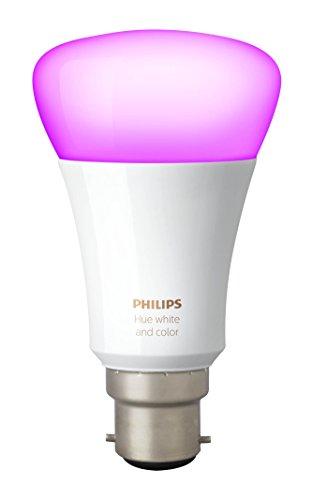 Philips Hue Ampoule connectée White and Color B22 3ème génération - Fonctionne...