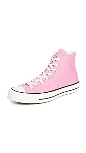 Converse Men's Chuck Taylor All Star '70s High Top Sneakers, Magic Flamingo, Pink, 11 Medium US