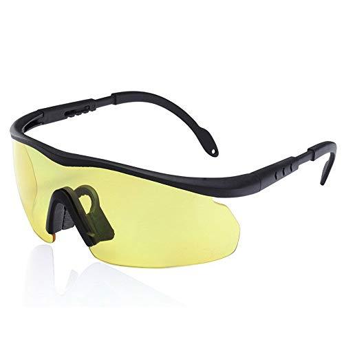 Gafas Ciclismo Hombres y mujeres al aire libre polarizó los vidrios de los anteojos de disparo Gafas de conductores de motocicletas Gafas de deporte de vidrios táctico de peso Ligero a Prueba de V