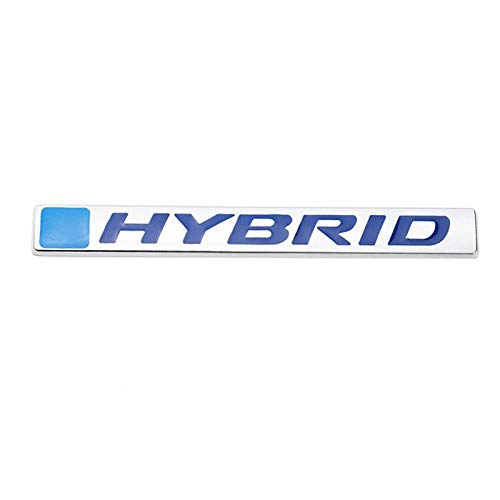 KDLLK Autoaufkleber, for Honda Accord Civic Fit Jazz CRV Car Rear Tail Trunk Decal Stickers Accessories Car 3D Metal Emblem Badge HYBRID Logo Sticker