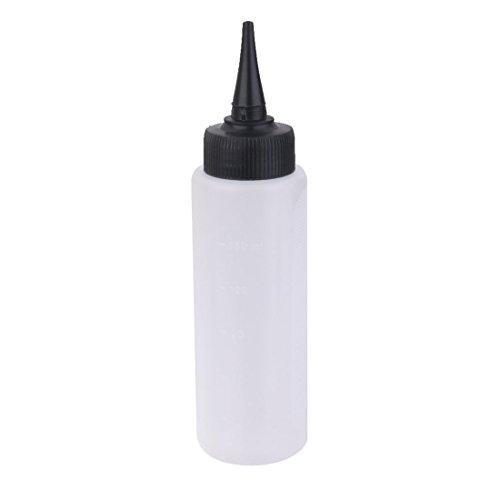SODIAL 150ml Salon Haarfarbe Mess Applikator Flasche Skala Friseur Werkzeug