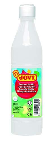 Jovi- Témpera líquida, Color blanco, 500 mililitros (01)