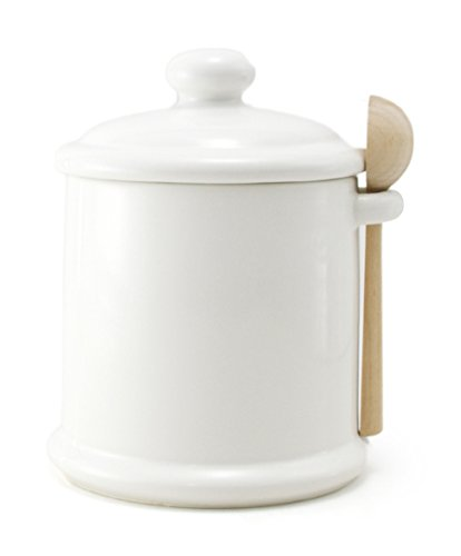 ZEROJAPAN canister M with wooden spoon White CP-05M WH (japan import)