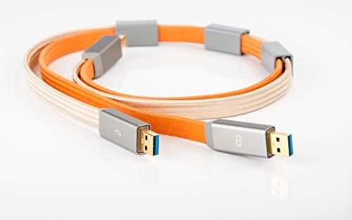 iFi Gemini3.0 Cable USB 3.0 con Datos Separados y rutas de s
