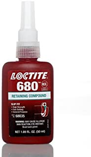 Loctite MS46082B 680 50ml Slip Fit High Strength Retaining Compound Bottle