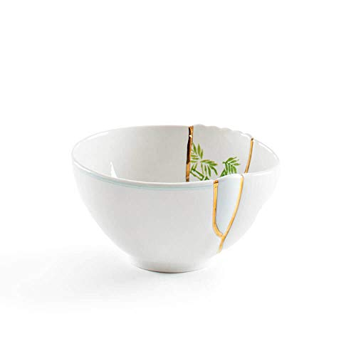 Seletti Kintsugi mod. 3 - Bol en porcelaine et or 24 carats -