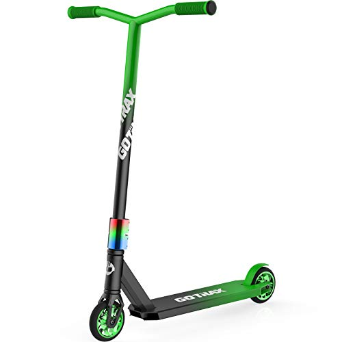 Gotrax ST PRO 200 Pro Scooters - Durable Aircraft Aluminum Stunt Scooter - Intermediate and Beginner Freestyle Scooter for Kids 8 Years and Up - Best Trick Kick Scooters for Teens and Adults