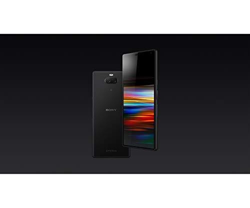 Sony Xperia 10 Smartphone (15, 24 cm (6 Zoll) 21: 9 Full HD+ Display, 64 GB Speicher, Dual-SIM, Split-Screen, Android 9) Schwarz