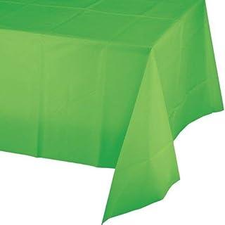 غطاء طاولة بلاستيكي لحفلات اعياد الميلاد من كرياتيف كونفيرتينغ، طول 274 انش × عرض 137 انش، الوان متعددة