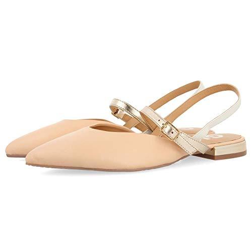 Gioseppo Randall, Zapatos Tipo Ballet Mujer, Nude, 35 EU