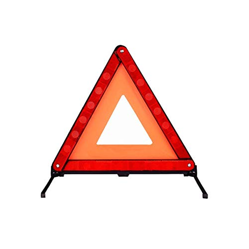 Warndreieck Rot, Warndreieck in Aufbewahrungsbox für Unfall & Wagen Pannen