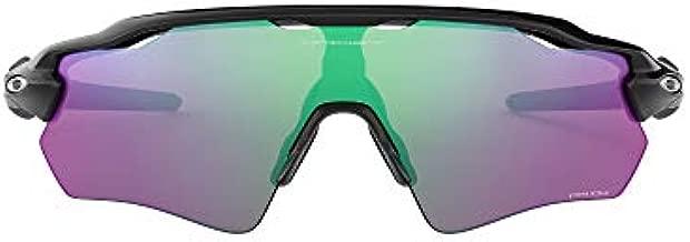 Oakley Men's OO9208 Radar EV Path Shield Sunglasses, Polished Black/Prizm Golf, 38 mm