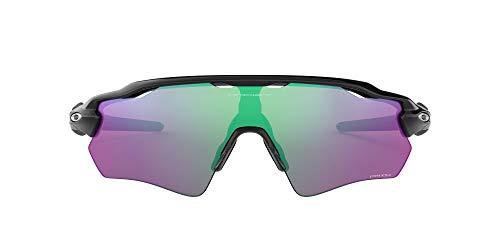 Oakley Radar EV Path - Gafas de Sol, Hombre, Negro (Polished Black/Prizm Golf), talla del fabricante: 38