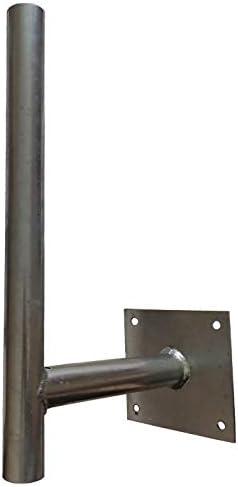 Soporte I Longitud 50 cm inclinación fácil Cielo y Tierra para Antenas 4G LTE 5G, rastrillo TNT o Cualquier Otro Elemento