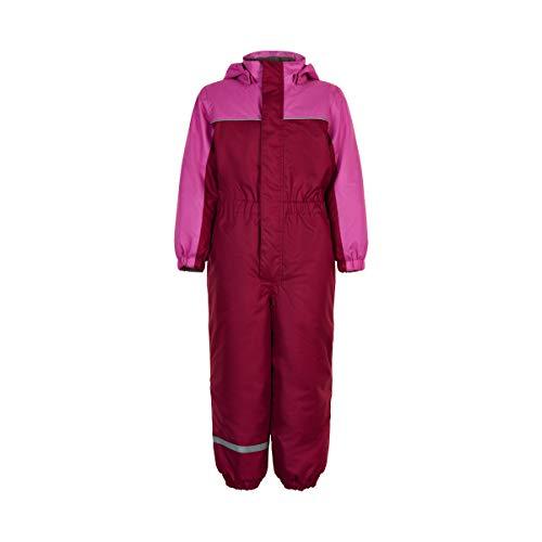 Color Kids Anzug mit Futter Traje para Nieve, Rojo, 24 Meses para Niñas
