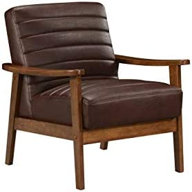 Best Fat June Tristan Accent Chair, 1 Seater, Brown