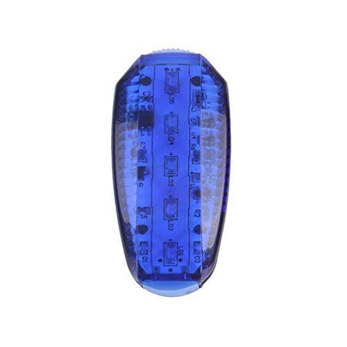SLRMKK Luz de Bicicleta, luz Trasera de Bicicleta LED, luz de Advertencia de Seguridad Nocturna, luz de Marcha, luz Trasera USB Recargable Helmlichtrad Impermeable, Dos Colores