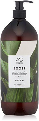 AG Hair Natural Boost Conditioner, Apple Cider Vinegar, 33.8 Fl Oz