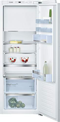 Bosch KIL72AFE0 Serie 6 Einbau-Kühlschrank mit Gefrierfach / E / 158 cm Nischenhöhe / 174 kWh/Jahr / 214 L Kühlteil / 34 L Gefrierteil / VitaFresh plus / VarioShelf
