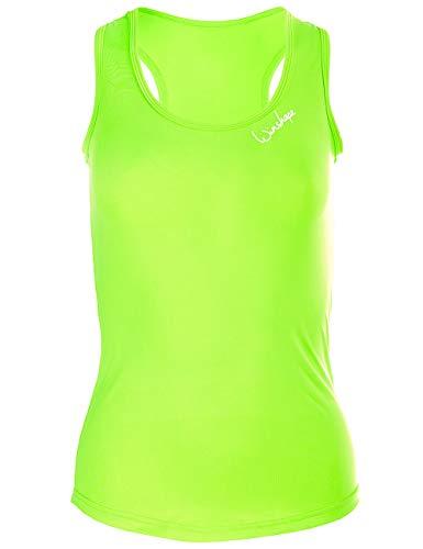 Winshape Aet104 Débardeur Fonctionnel Ultra léger pour Femme XS Vert Fluo