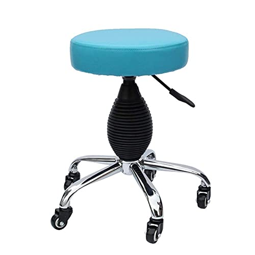 Table Beauty Salon Stool Can Be Rotated 360° Work Bench Lift Nail Bench (45-57CM) Lifting Adjustment For Massage Room/Workplace/Spa (Color : C)