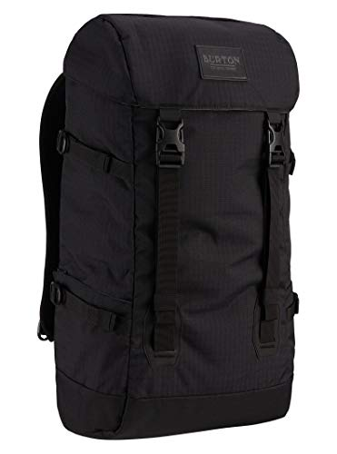Burton New Tinder 2.0 Backpack Updated with External Laptop Pocket & Water Bottle Pockets, True Black Triple Ripstop, One Size