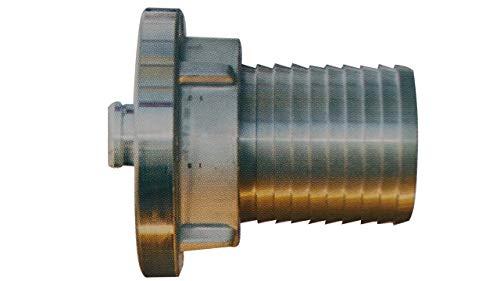 Saugkupplung mit Sägezahn-Profil für Spiralschlauch Storzkupplung Storz Aluminium verschiedene Ausführungen by MBS-FIRE, Größe: Storz 52-C Ø:51 L:90mm