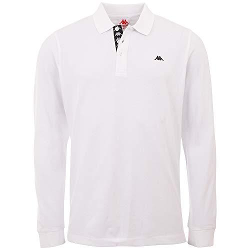 Kappa Herren Hardi Poloshirt, Bright White, L