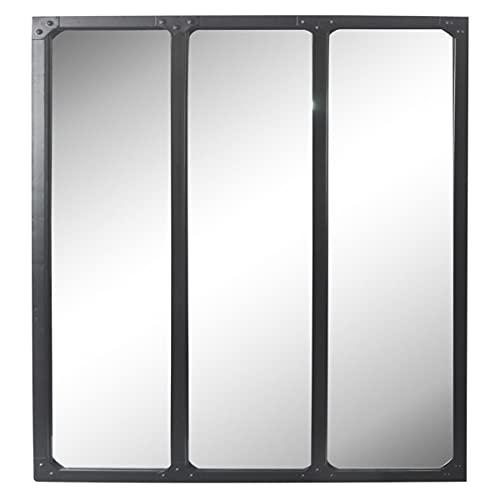 EMDE - Miroir Industriel 3 Bandes Noir