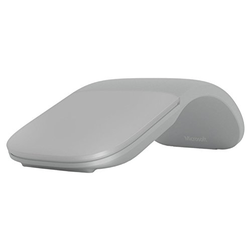 Microsoft Surface ARC Mouse, Bluetooth, Gris Claro